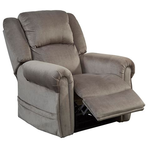 recliner headrest spencer power lift recliner with power headrest by