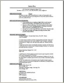 sle travel nursing resume free template bluepipes