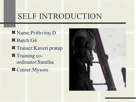 self introduction powerpoint template frankfinn grooming ppt