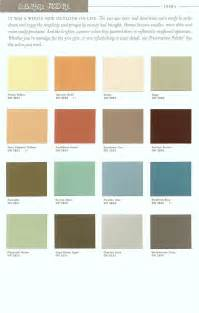 paint color palette paradise palms some mid century modern paint colors