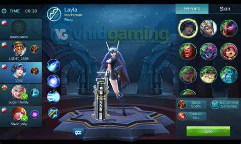 Kaos Mobile Legends Layla 01 free to play moba mobile legends review vhid gaming