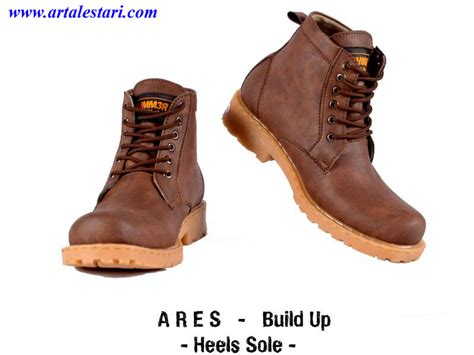 Sepatu Boots Hummer Ares Bulid Up sepatu boot selling gold tips and guide