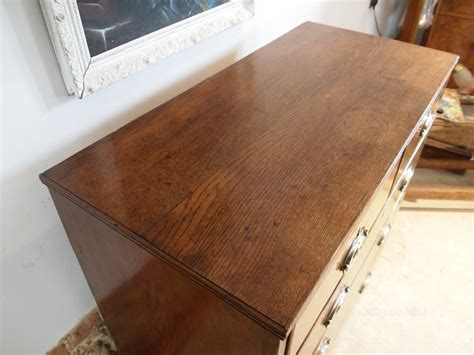 36 Wide Chest Of Drawers Chest Of Drawers George Iii Oak 36 Quot Wide C1800 Antiques