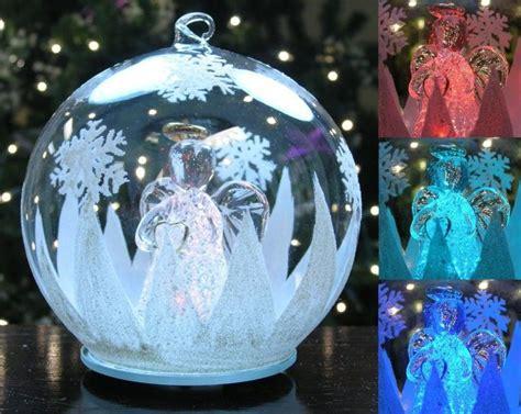 led globe tree lights led glass globe tree ornament