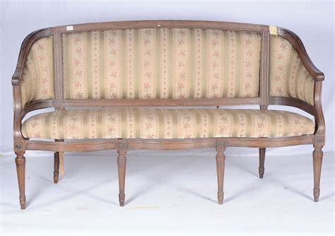 divano luigi xvi divano luigi xvi in noce a tre posti genova xviii