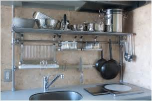 charming kitchen stainless steel shelf furniture modern