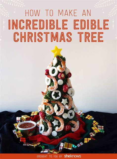 edible christmas trees the easiest holiday food trick we