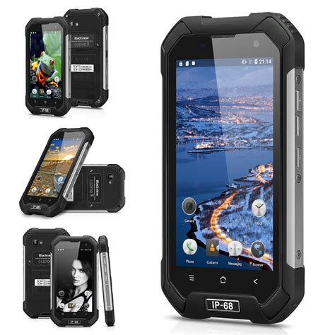 Blackview Bv6000s Waterproof Android 6 0 Octa 4g Lte 2gb Ram 16 D waterproof blackview bv6000s bv6000 smartphone shockproof 4g android 6 0 4200mah