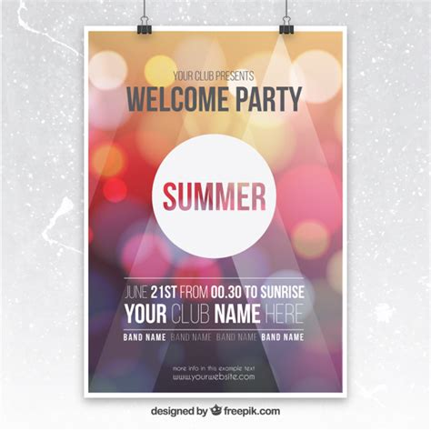 poster templates illustrator flyer vectors photos and psd files free