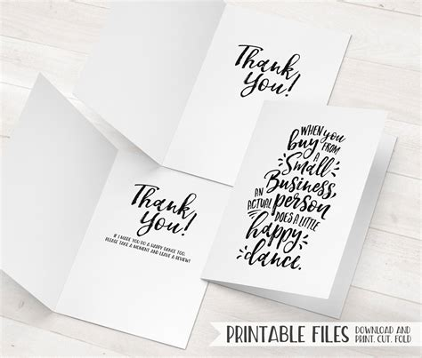 Custom Thank You Cards For Business