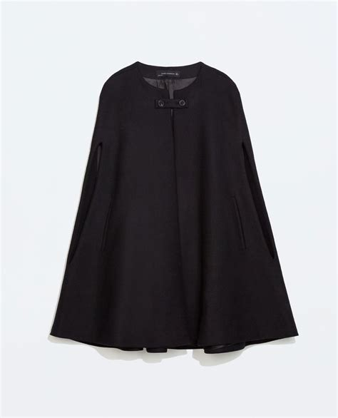 Uniqlo Kulot 3 4 Seri Pink buttoned cape coat zara fall winter style