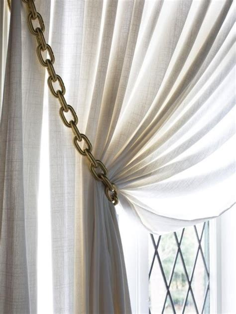 modern curtain tie backs 64 diy curtain tie backs guide patterns