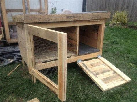 Handmade Rabbit Hutches - rabbit hutches made from pallets pallet wood projects