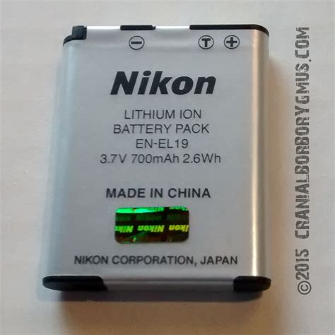 Nikon En El19 nikon en el19 replacement battery options review