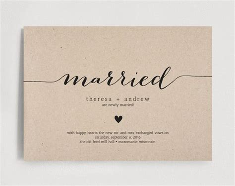 Wedding Announcement Miami by Wedding Announcements Elopements And Just Married On