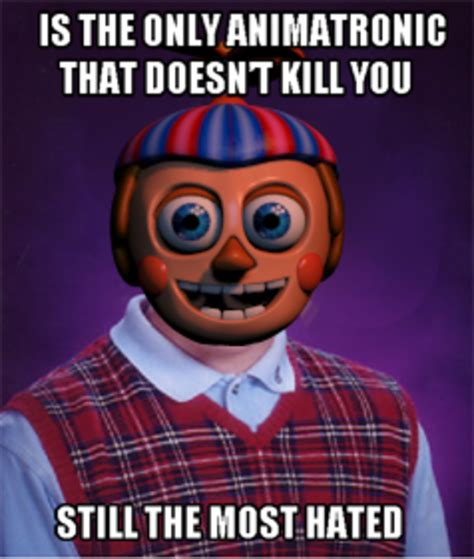 Balloon Boy Meme - bad luck bb five nights at freddy s know your meme