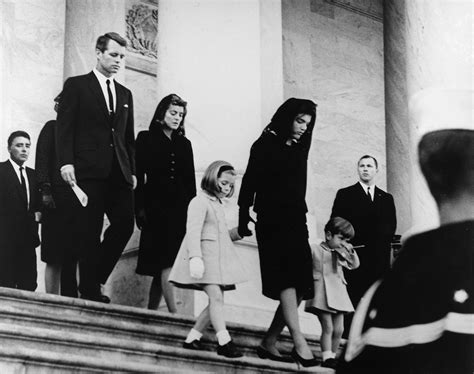 john f kennedy children file jfk s family leaves capitol after his funeral 1963 jpg
