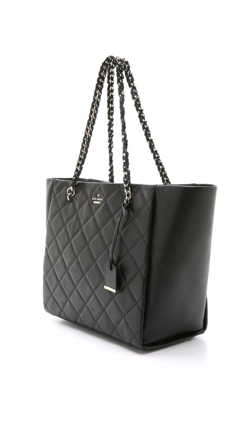 Kate Spade Black Quilted Purse by Kate Spade New York Francelle Quilted Tote Black In