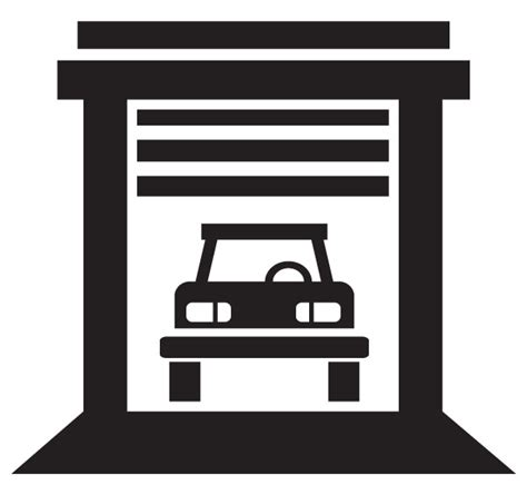 Garage Door Clipart Car Garage Building Clip Clipart Panda Free