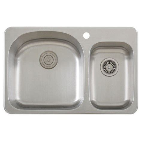 30 drop in sink double bowl topmount stainless steel drop in kitchen sink