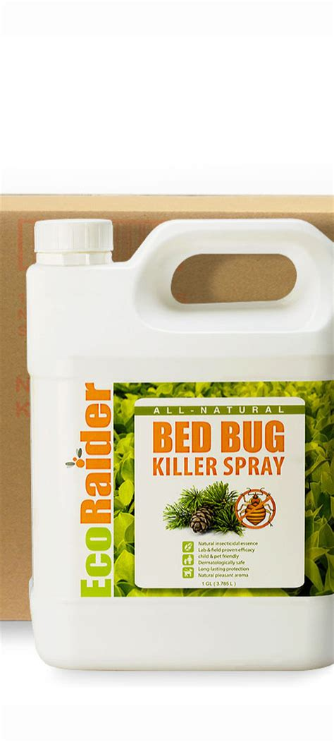 ecoraider bed bug spray bed bug killer spray 4 x 1 gallon case ecoraider