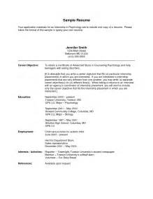 Political Resume Exles by Cover Letter For Political Internship Choice Image Cover Letter Ideas