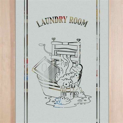 Laundry Room Doors Frosted Glass Laundry Room Door Sans Soucie Glass