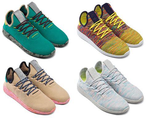 Adidas Pharrel Willams 2 available now adidas originals pharrell williams tennis hu part ii the drop date
