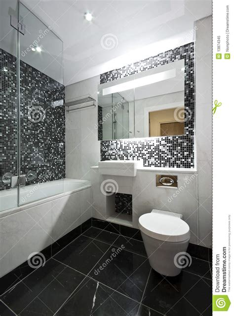 black and white bathroom suites contemporary en suite bathroom in black and white stock