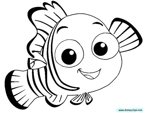 finding nemo coloring pages pdf finding nemo coloring pages disney kids coloring pages
