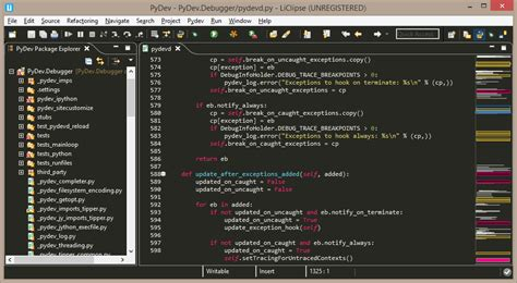 eclipse themes pydev besides that stringtemplate and yaml are now also supported