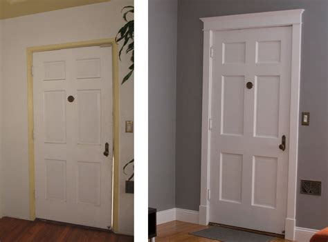 Front Door Crown Molding Door Molding Ideas