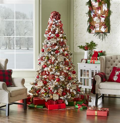 78 pc complete tree decorating kit christmas tidings