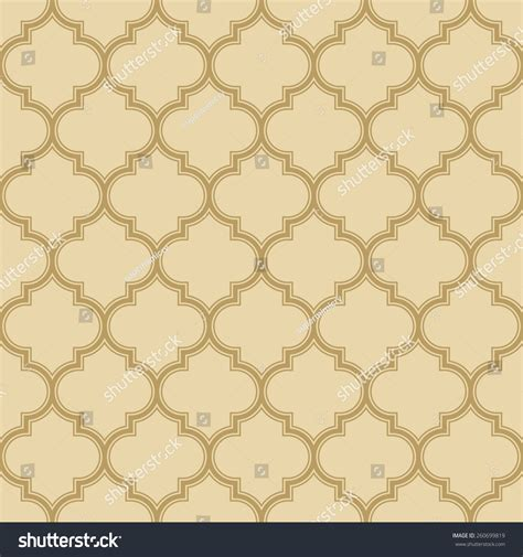 seamless quatrefoil pattern quatrefoil pattern with outlines seamless vector