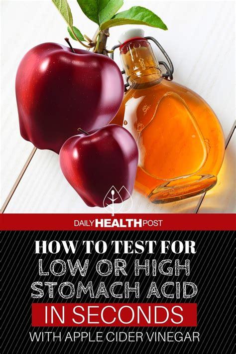 test    high stomach acid  seconds