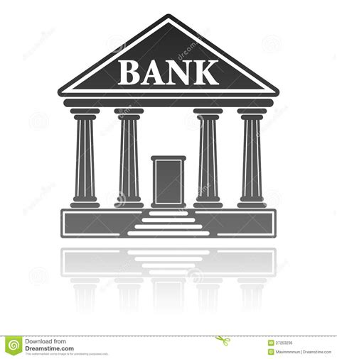 free bank illustration with a bank royalty free stock image image