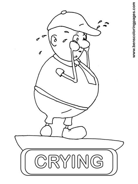 coloring page of crying baby 11 images of boy crying coloring pages gumball machine