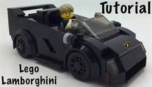 How To Make A Lego Lamborghini Lego Lamborghini Tutorial