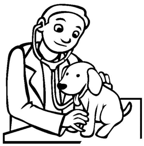 ausmalbilder zum drucken malvorlage tierarzt kostenlos 2