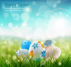 Happy easter 10 free vector graphic download