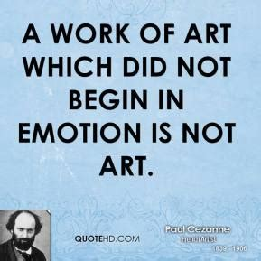 when did color begin paul cezanne work quotes quotehd