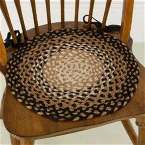 Braided Chair Pads For Kitchen Chairs by Stallion 15 Quot Braided Chair Pad Braided Rugs