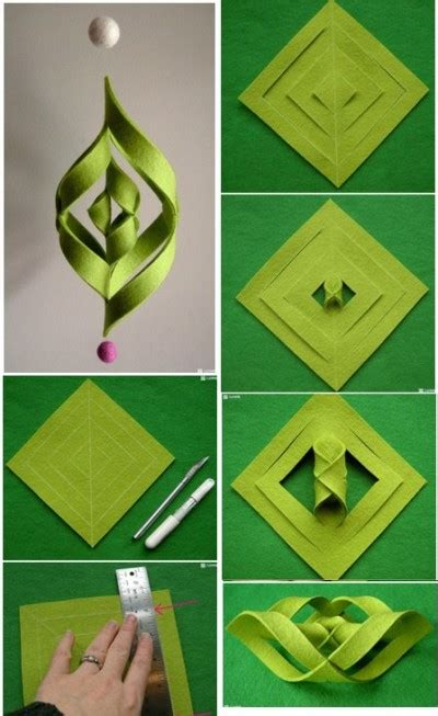 Craft Ideas For With Paper Step By Step - how to make cool modern decoration step by step diy