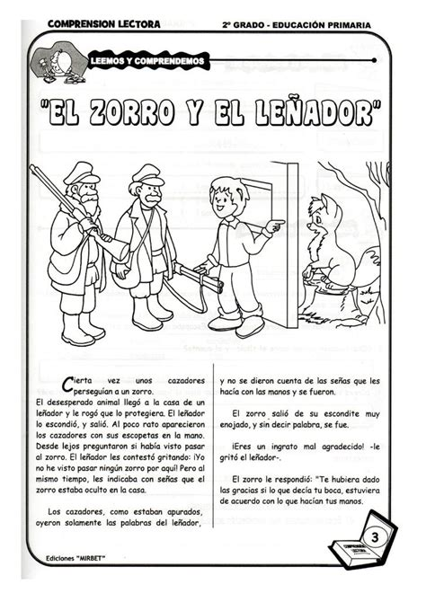 cuentos tercero de primaria comprension lectora 2 176 grado comprension lectora