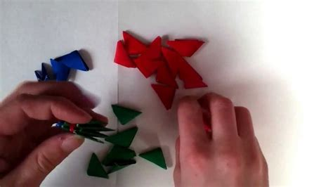 How To Make A 3d Rocket Out Of Paper - 3d mini origami rocket ship