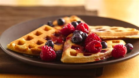 Pantry Decorating Ideas by Waffles Recipe Bettycrocker Com
