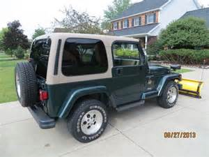 sell used 1999 jeep wrangler both tops 6 cyl 4