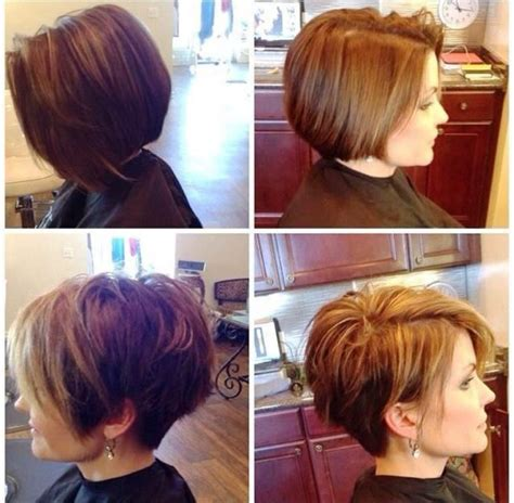 before and after bob haircut photos hairstyles for women that are short in back and around