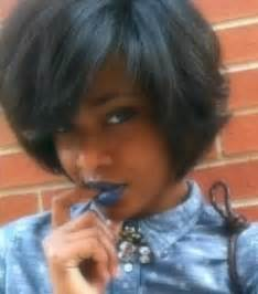 one side stack sassy bob bllack hair 20 short bob hairstyles for black women short hairstyles