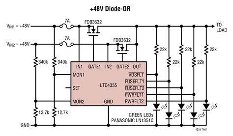 mosfet without diode power mosfet without diode 28 images ltc4358 5a ideal diode linear technology mosfet
